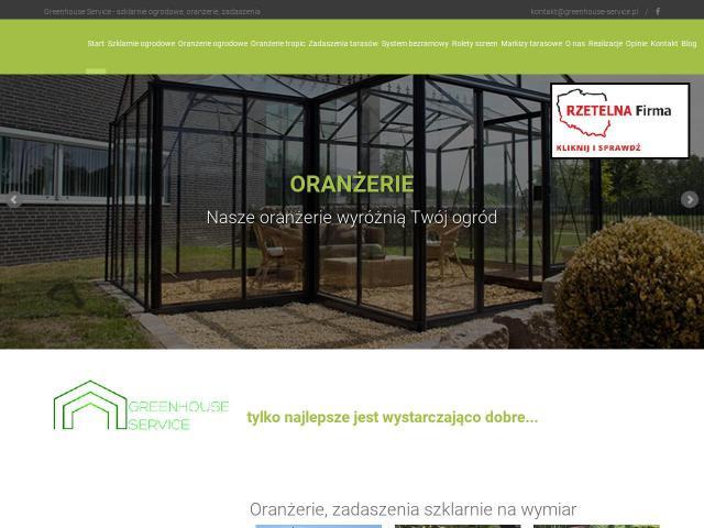 Nowoczesne Zadaszenie Tarasu Greenhouse Service Sc